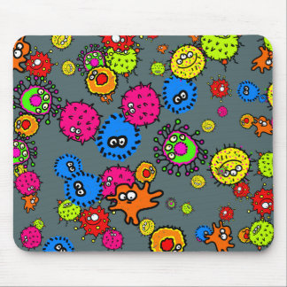 Bacteria Wallpaper Mouse Pad