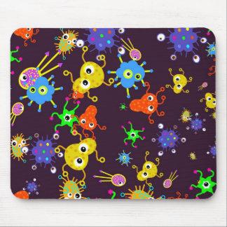 Bacteria Wallpaper Mouse Pad