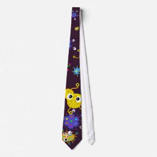 Bacteria Wallpaper Neck Tie