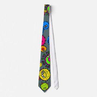 Bacteria Wallpaper Tie