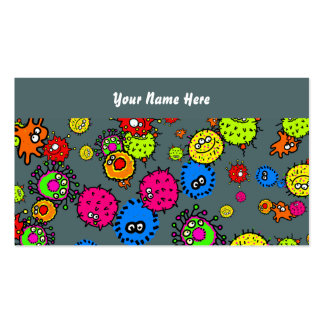 Bacteria Wallpaper, Your Name Here Double-Sided Standard Business Cards (Pack Of 100)