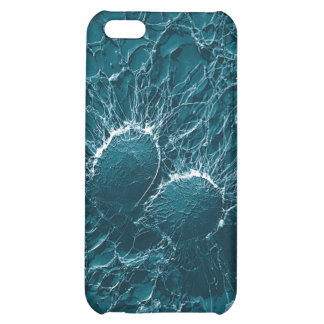 Bacterial cells of Staphylococcus Aureus Close Up iPhone 5C Cases