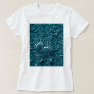 Bacterial cells of Staphylococcus Aureus Close Up T-shirt