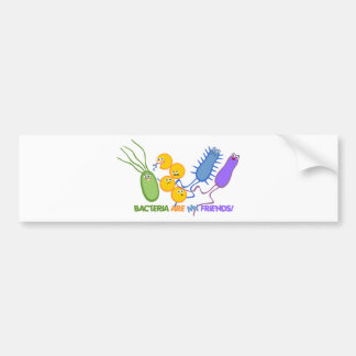 Bacterial Friends Bumper Stickers