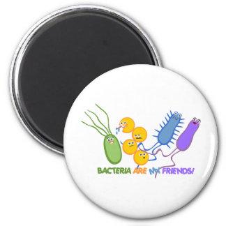 Bacterial Friends Fridge Magnet