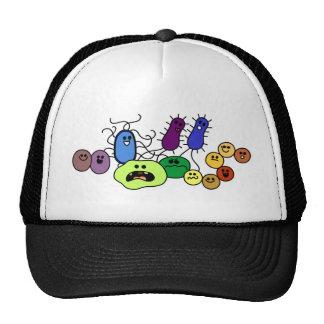 Bacterias Gorros Bordados