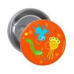 Bacterias Pin Redondo De 2 Pulgadas