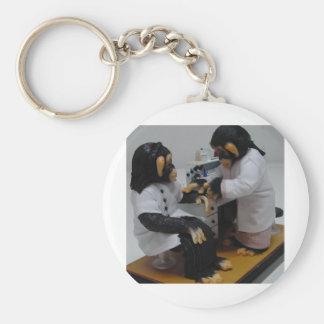 Bacteriologist Keychain
