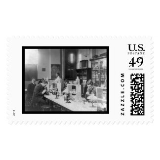 Bacteriology Lab at Howard Univiversity 1900 Postage