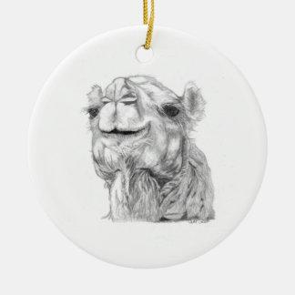 Bactrian Camel Ceramic Ornament