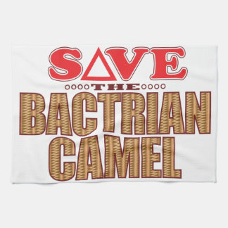 Bactrian Camel Save Hand Towels