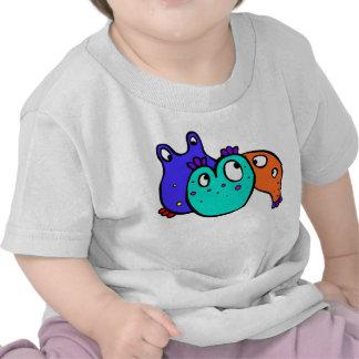 Bacty en una camisa de los niños
