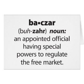 Baczar Card