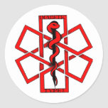 Bad A$$ Diabetic Classic Round Sticker