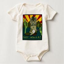 Bad A.S. Walkers In A.Z. Baby Bodysuit