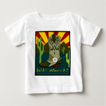 Bad A.S. Walkers In A.Z. Baby T-Shirt