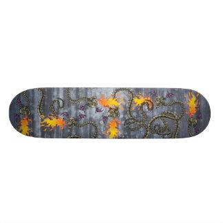 Bad A** Snake Skeleton Skateboard