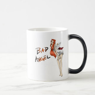 Bad Angel Morphing Mug