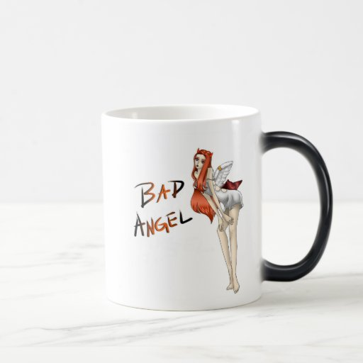 Bad Angel Morphing Mug