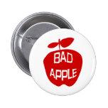 Bad Apple 2 Inch Round Button