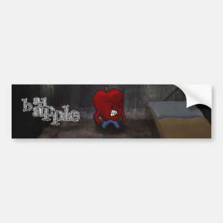 Bad Apple Bumper Sticker