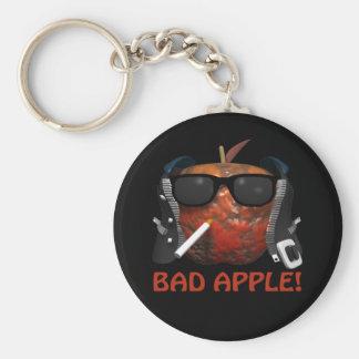 Bad Apple Keychain