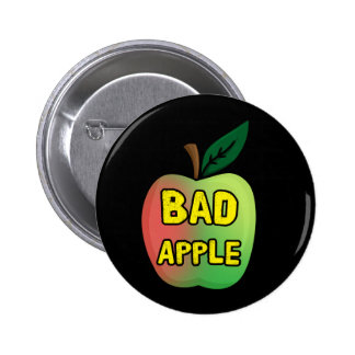 Bad Apple Pinback Buttons