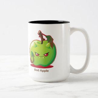 Bad Apple Two-Tone Coffee Mug
