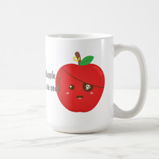 Bad Apples can be cute too Classic White Coffee Mug