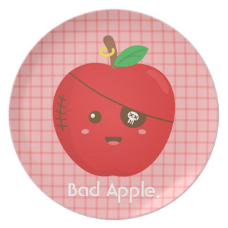 Bad Apples can be cute too Plate