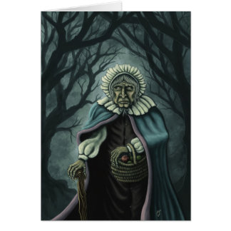 bad apples fantasy art notecard