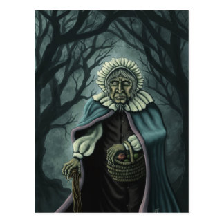 bad apples fantasy art postcard