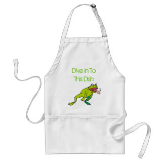 Bad As, Dive In To This Dish Adult Apron