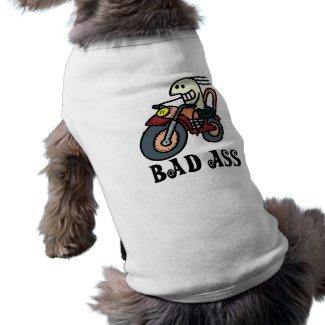 Bad Ass Costume Dog T-shirt petshirt