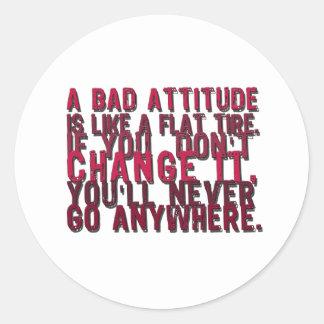 bad attitude products sticker