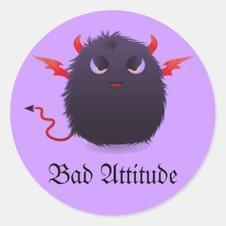 Bad Attitude Stickers