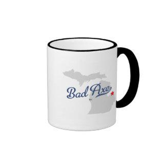 Bad Axe Michigan MI Shirt Ringer Mug