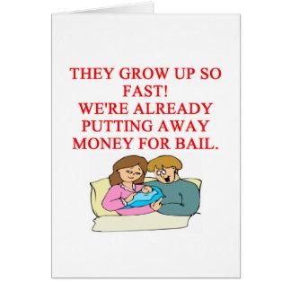 bad baby joke greeting card
