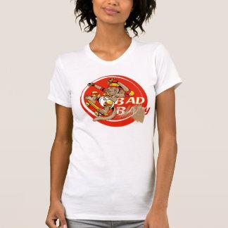 Bad Baby Skateboard Monkey Shirt
