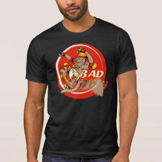 Bad Baby Skateboard Monkey T Shirts