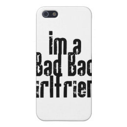 Bad Bad Girlfriend iPhone Case