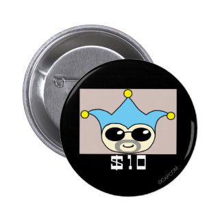 Bad Badger - Wanted Pinback Button