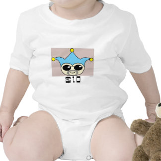 Bad Badger - Wanted Baby Bodysuit