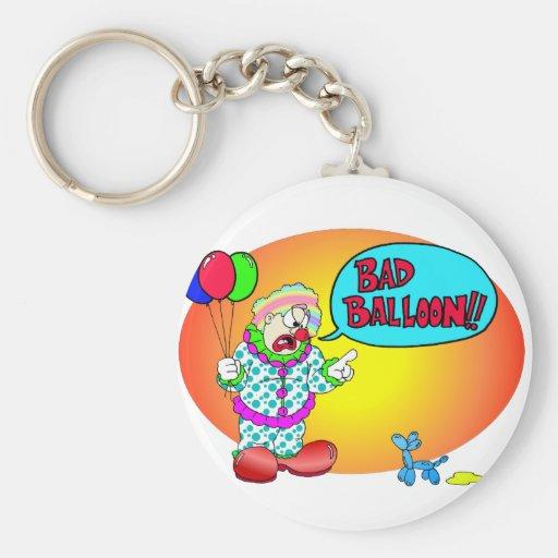 Bad Balloon Keychain