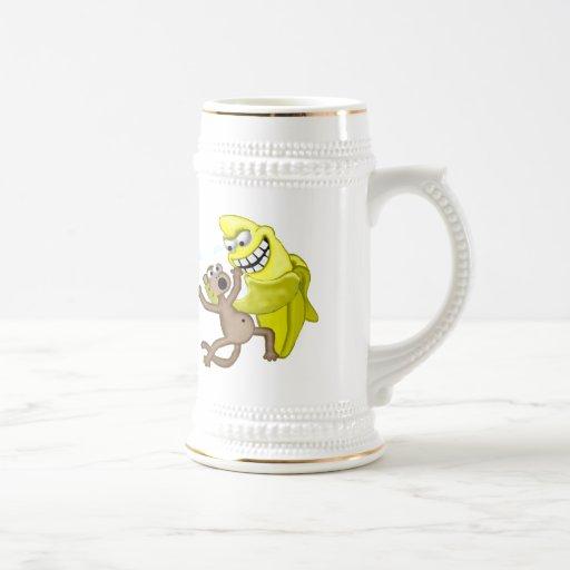 bad banana 18 oz beer stein