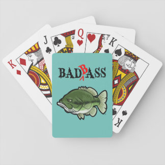 Bad Bass Playing Cards