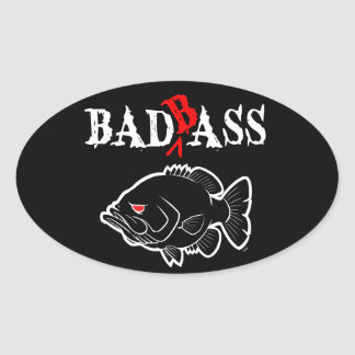 Bad Bass Stickers