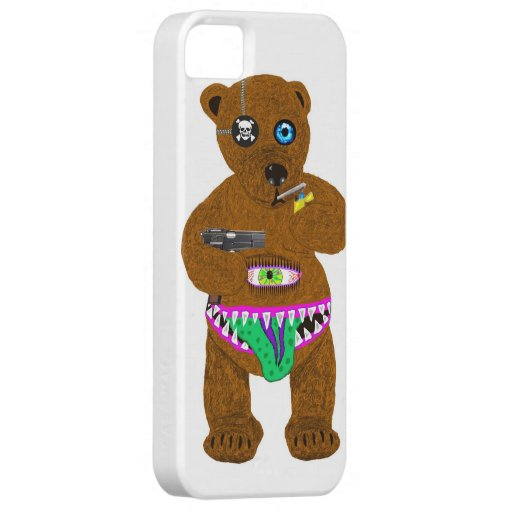 bad bear iPhone 5 covers