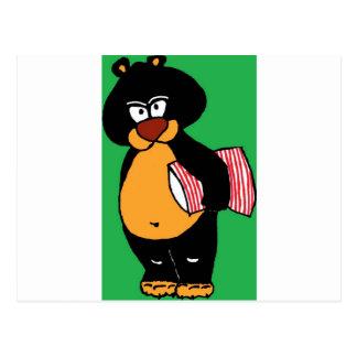 Bad Bear.jpg Postcard