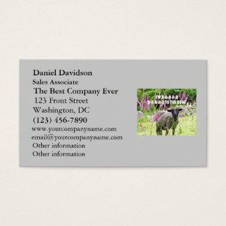 Bad Black Sheep Business Card